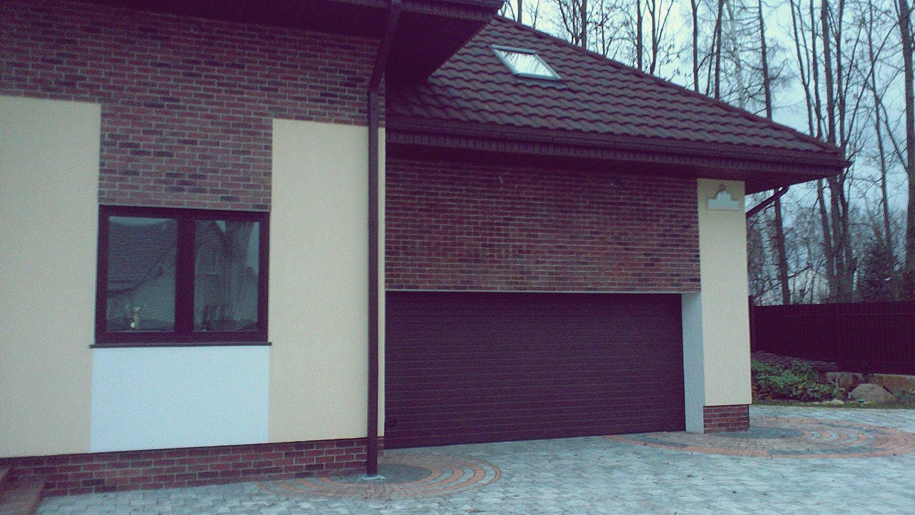 Красивые гаражные ворота