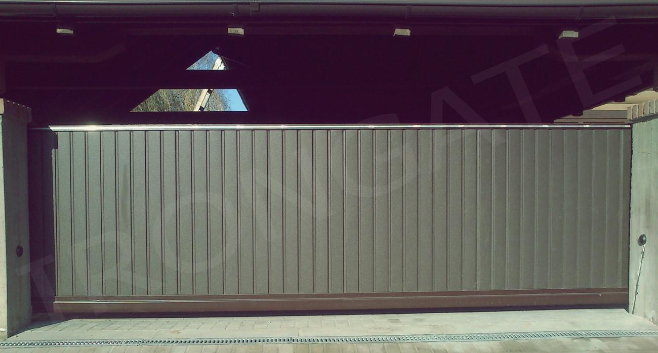откатные ворота для въезда - фото 1