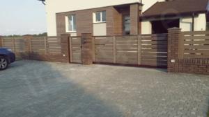 Откатные ворота - фотография 1
