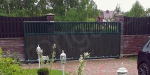 Откатные ворота - фото 9