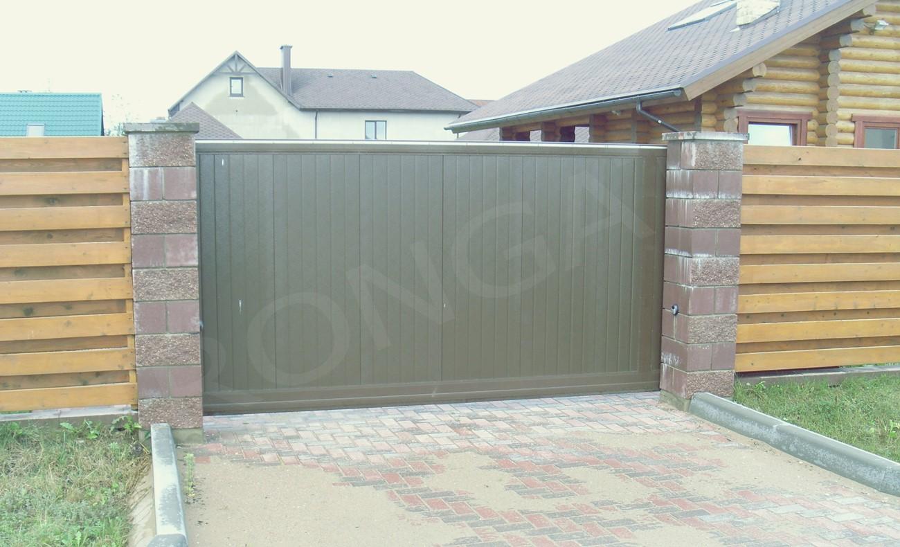 Откатные ворота для дома - фото 7