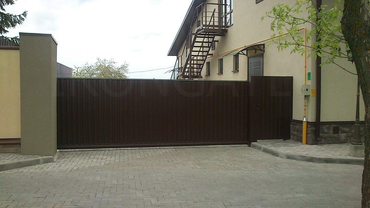 Ворота роллетные фото 2