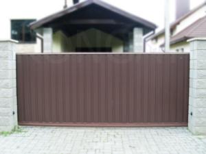 Откатные ворота - фото 4