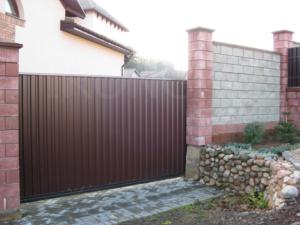 Откатные ворота - фото 3