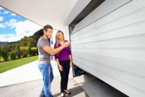 Управление секционными гаражными воротами