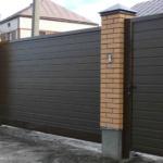 Ручное управление откатными воротами